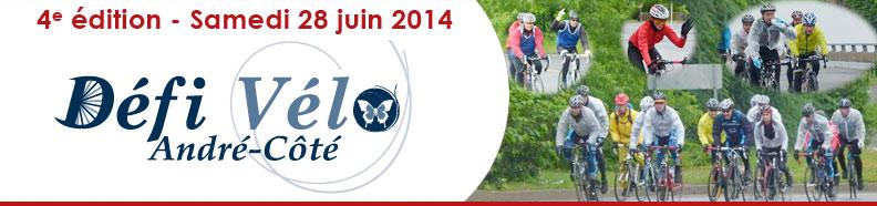 Défi Vélo André-Côté 2014 - Samedi 28 juin 2014