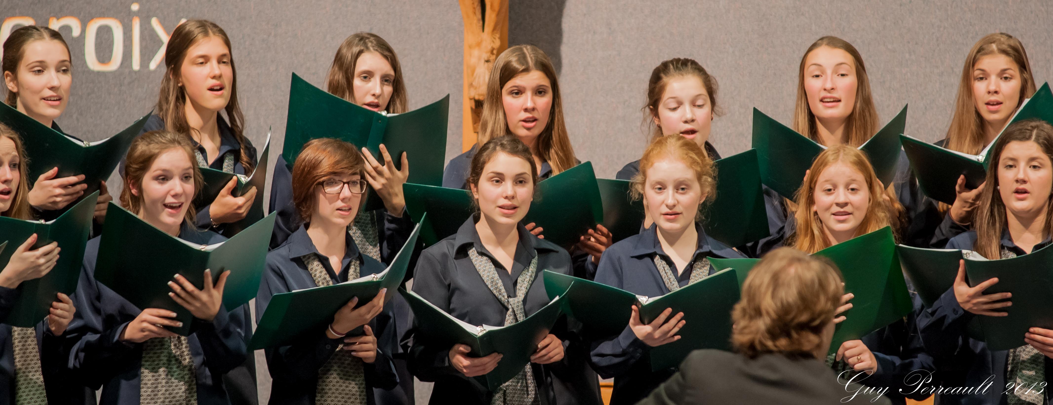 Les Voix Boréales au Concert-bénéfice 2013 de la Fondation André-Côté